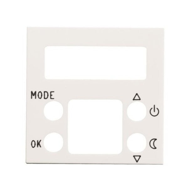 ABB Zenit BL Cover Plate For Digital Thermostat 2M
