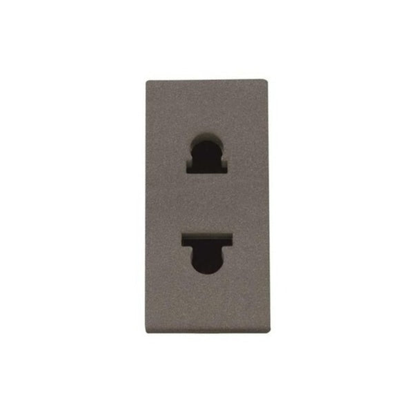 ABB Zenit AN - Euro American Unearthed Socket Outlet 1M 2CLA213500N1802