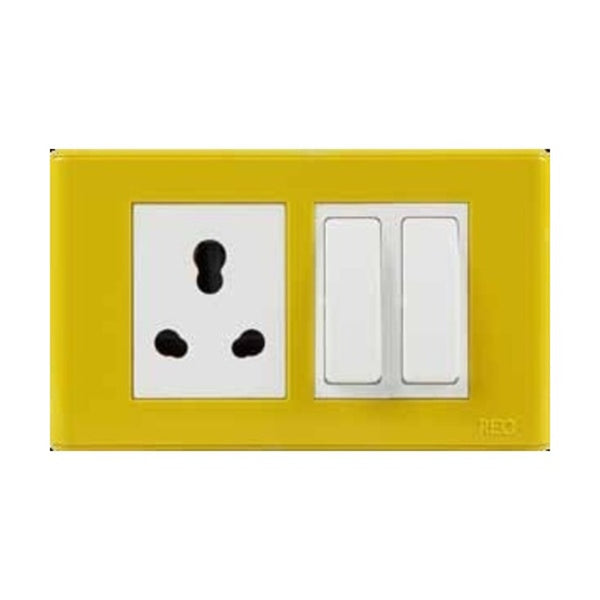 Havells REO Outer & Inner Plate Mustard Yellow