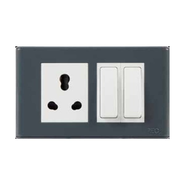 Havells REO Outer & Inner Plate Stone Grey