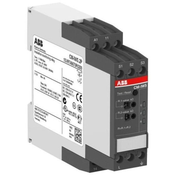 ABB 1 C/O Insulation Monitoring Relay CM-IWS