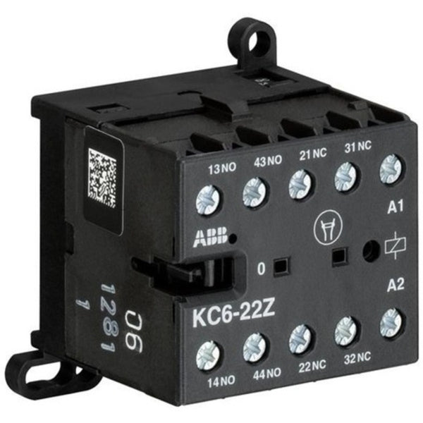 ABB AC Type Mini Contactor Relays with Screw Connection Four Pole KC6-22Z