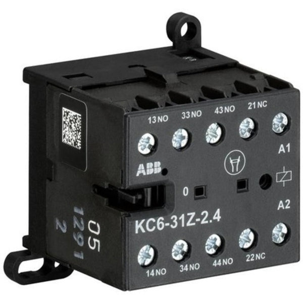 ABB AC Type Mini Contactor Relays with Screw Connection Four Pole KC6-31Z