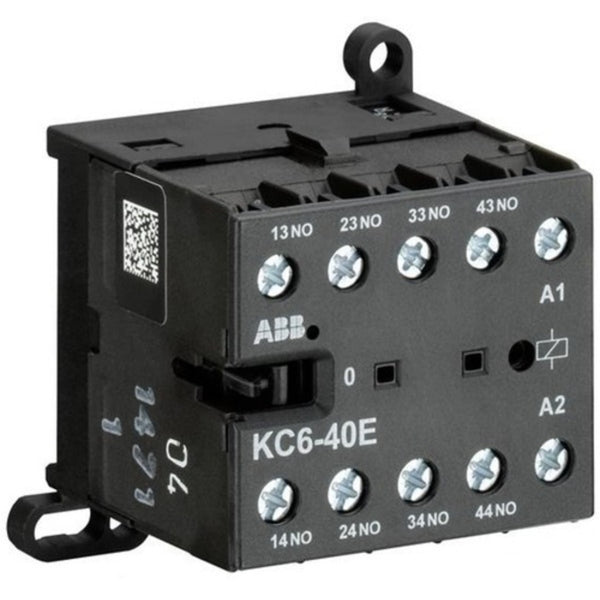 ABB AC Type Mini Contactor Relays with Screw Connection Four Pole KC6-40E