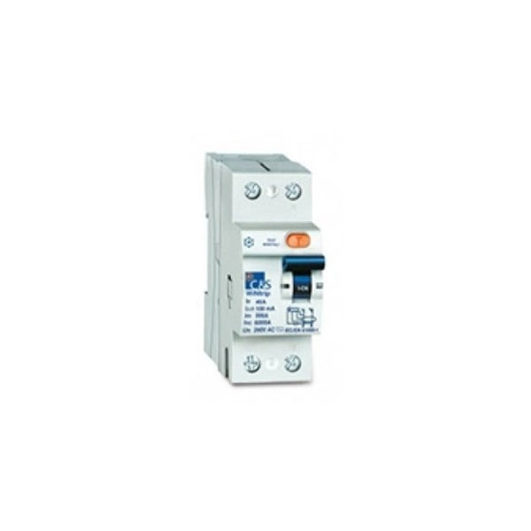C&S Residual Current Circuit Breaker 2 Pole 100mA