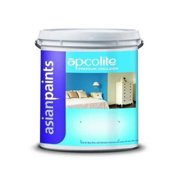 Asian Paints 4 Litre White Apcolite Premium Emulsion