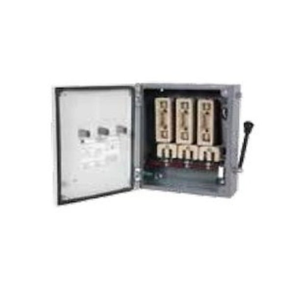 C&S Fuse Unit Rewirable 415V Three Pole Neutral 32A-200A