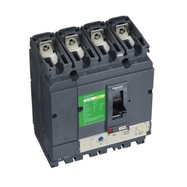 Schneider EasyPact CVS Moulded Case Circuit Breakers 4 Pole 25kA