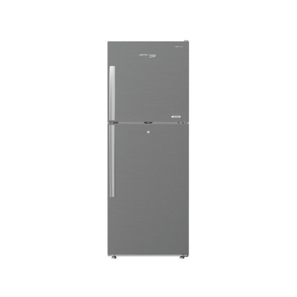 Voltas Beko 250 Litre Inverter 3 Star Frost Free Double Door Silver Refrigerator With Store Fresh+ RFF273IF
