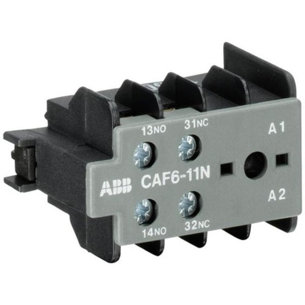 ABB CAF6-11M Auxiliary Contact Blocks For Mini Contactors 6A GJL1201330R0003