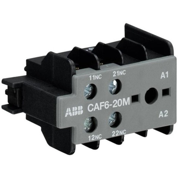 ABB CAF6-20M Auxiliary Contact Blocks For Mini Contactors 6A GJL1201330R0007