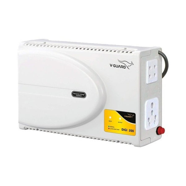 V-Guard DIGI 200 Electronic Voltage Stabilizer