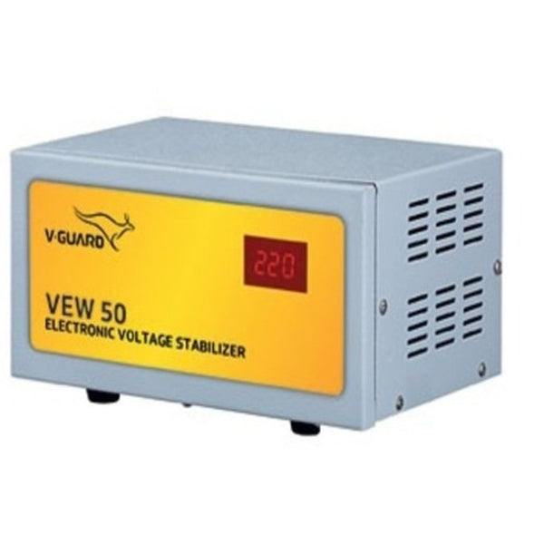 V-Guard VEW 50 Electronic Voltage Stabilizer For Refrigerator