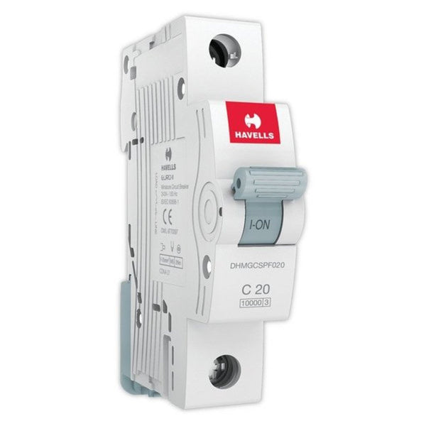 Havells C Curve MCB  Single Pole  6A-32A