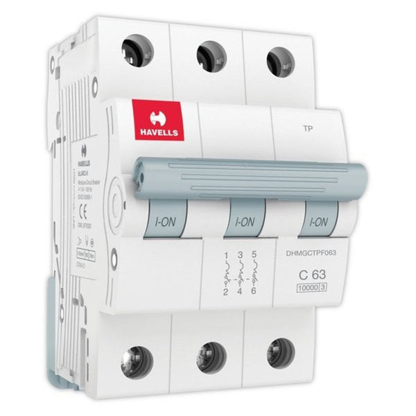 Havells C Curve MCB  Triple Pole 40A-63A