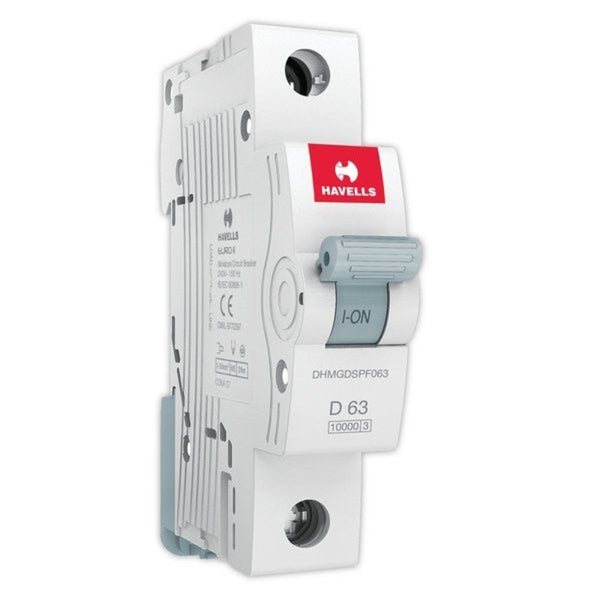 Havells D Curve MCB  Single Pole  40A-63A