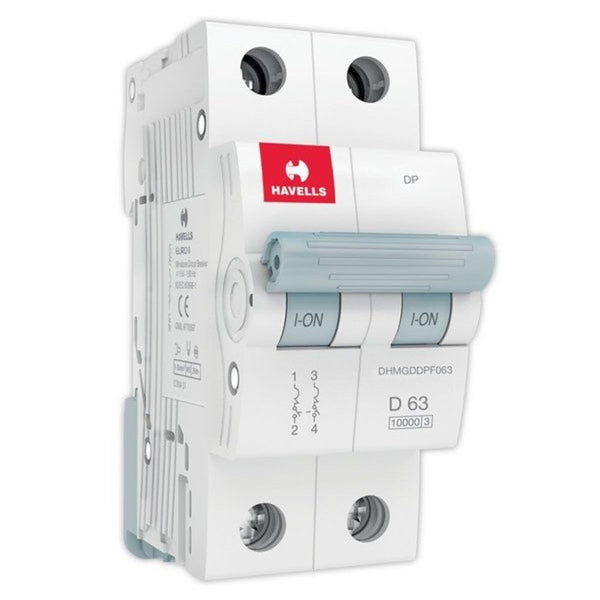 Havells D Curve MCB  Double Pole 40A-63A