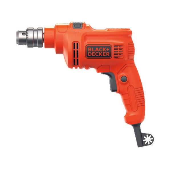Black & Decker 10MM 550W Single Speed Hammer Drill  KR5010V