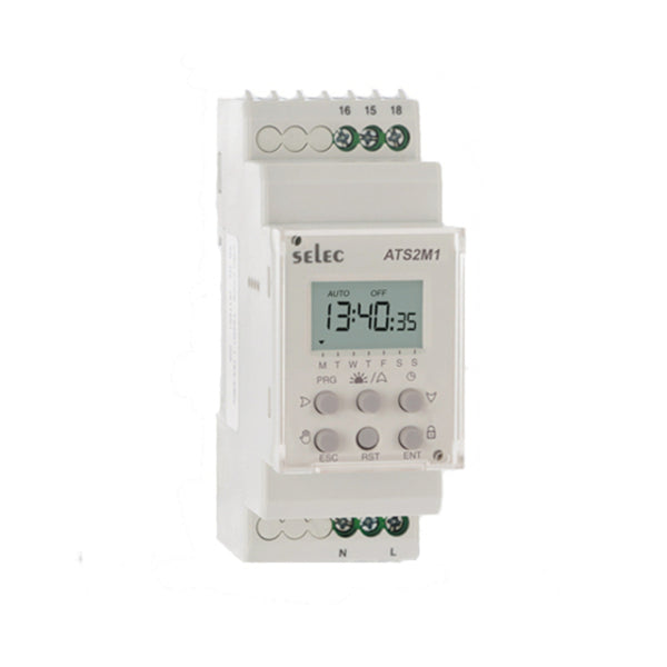 Selec Time Switch TS2M1-1-16A 230V