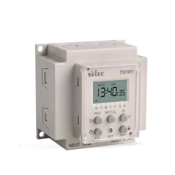 Selec Time Switch TS1W1-1-20A 230V
