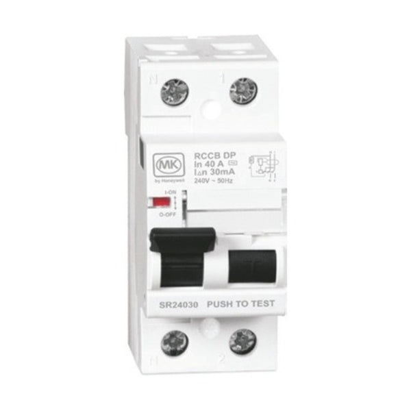 MK Sentry Residual Current Circuit Breaker Double Pole