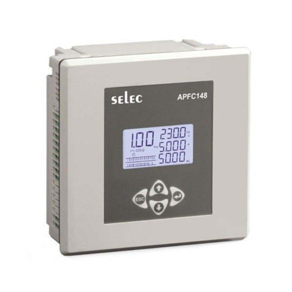 Selec Automatic Power Factor Controller With 3 CT Sensing APFC148