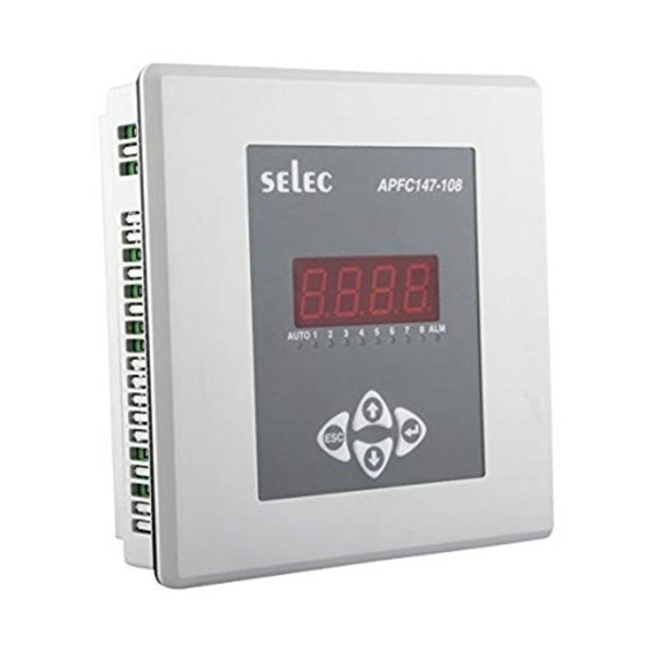 Selec Automatic Power Factor Controller With 1 CT Sensing APFC147