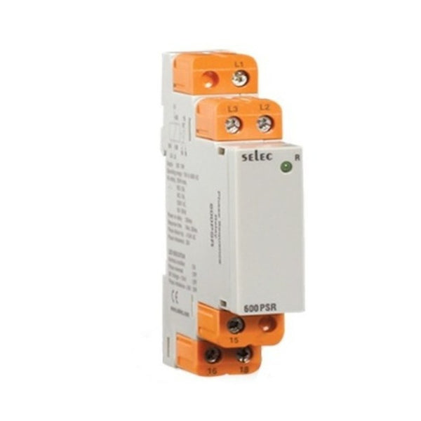 Selec Phase Sequence Relay 17.5mm 600PSR