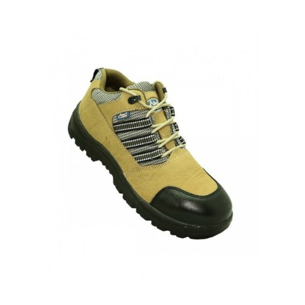 Allen Cooper Brown Steel Toe Safety Shoe AC-9005