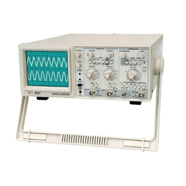 HTC 20 MHz Dual Channel Oscilloscope(With Component) HTC-5020C