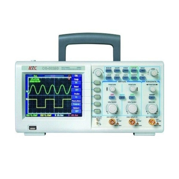 HTC 25 MHz Dual Channel Digital Oscilloscope PDO-5025S