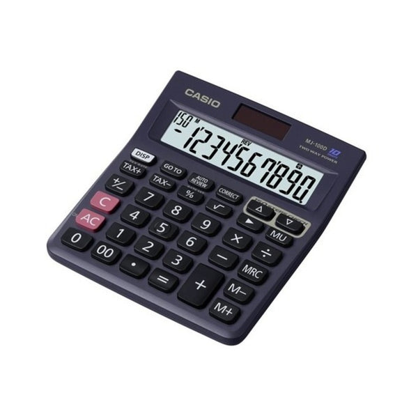 Casio 10 Digits Calculator MJ-100D