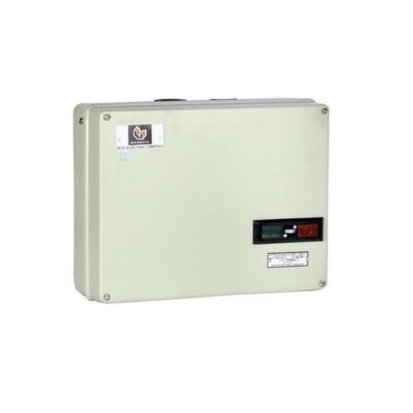 BCH Shakti Semi Automatic Star Delta Starter with 260-400V AC Coil 20A