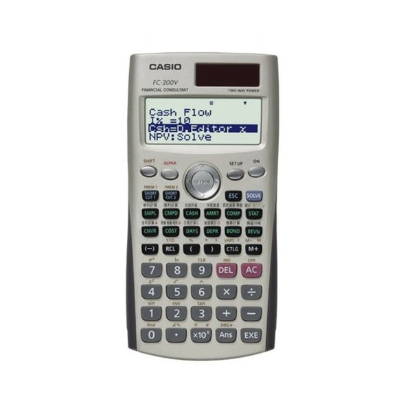 Casio 12 Digits Financial Calculator FC-200V