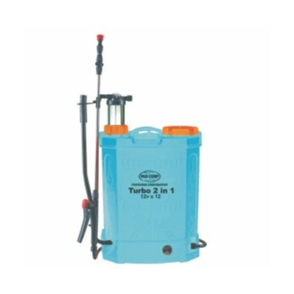 Pad Corp Turbo 2in1 Battery Sprayer 16L 12A