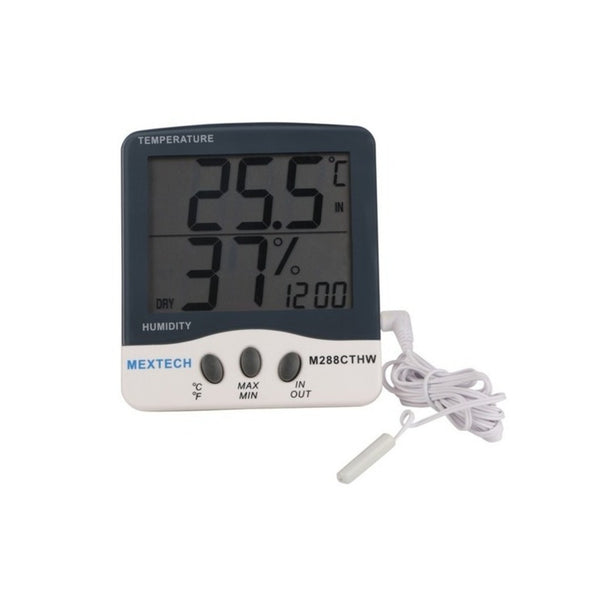 Mextech Digital Thermo Hygrometer (Temp Range -50°C to 70A°C) M-288CTHW