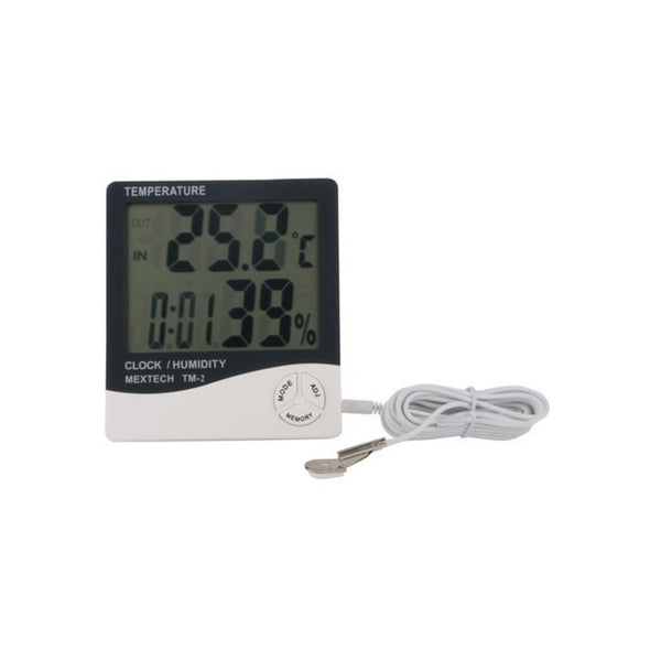 Mextech Digital Thermo Hygrometer (Temp Range -50?C to 70A°C) TM-2