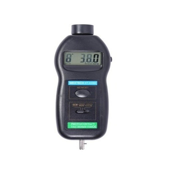 Mextech Digital Tachometer (Range 0.5 to 19999 RPM) DT-2236C