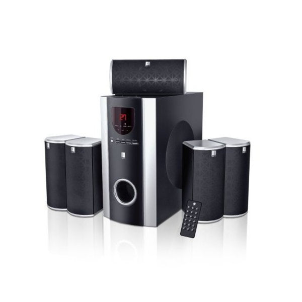 iBall Booster 5.1 USB/SD Multimedia Speaker (Black,5.1 Channel)