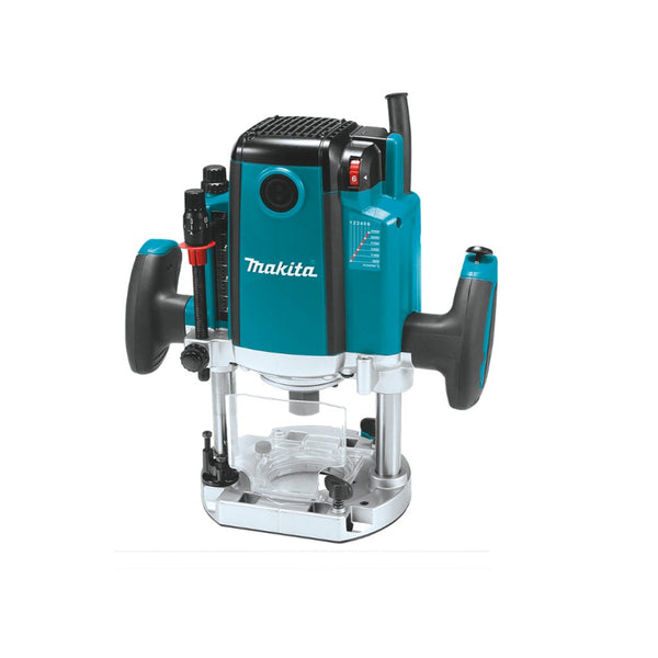 Makita 12mm (1/2 inch) 2100W Variable Speed Plunge Router RP2301FC