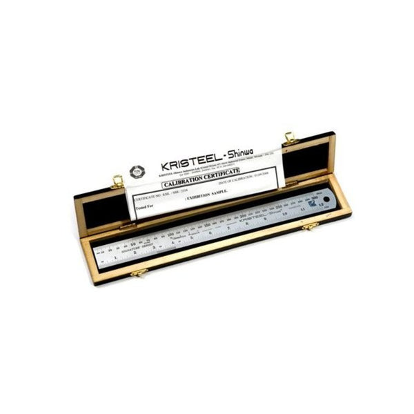 Kristeel shinwa Signature Series Rule with Calibration Certificate SSC – 12A
