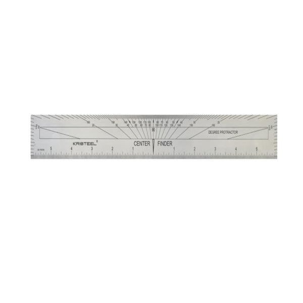 Kristeel shinwa Center Finding cum Protractor Scale CSPS -12