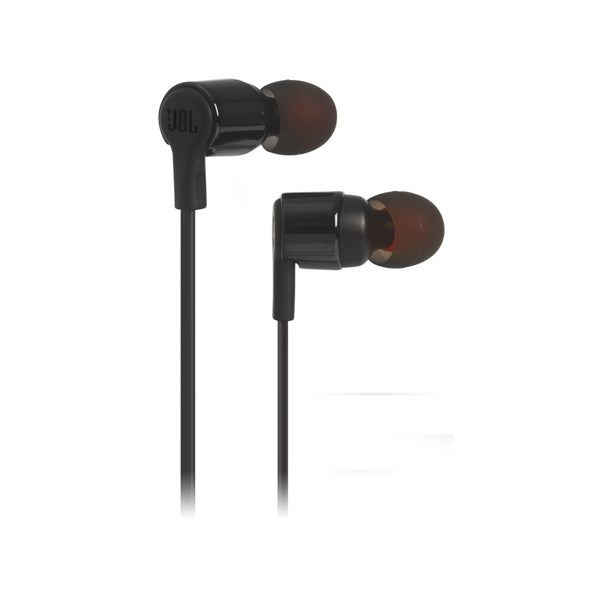 JBL T210 Wired In Ear Headphone Black JBLT210BLK