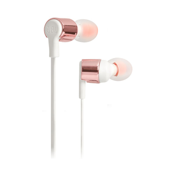 JBL T210 Wired In Ear Headphone Rose Gold JBLT210RGD