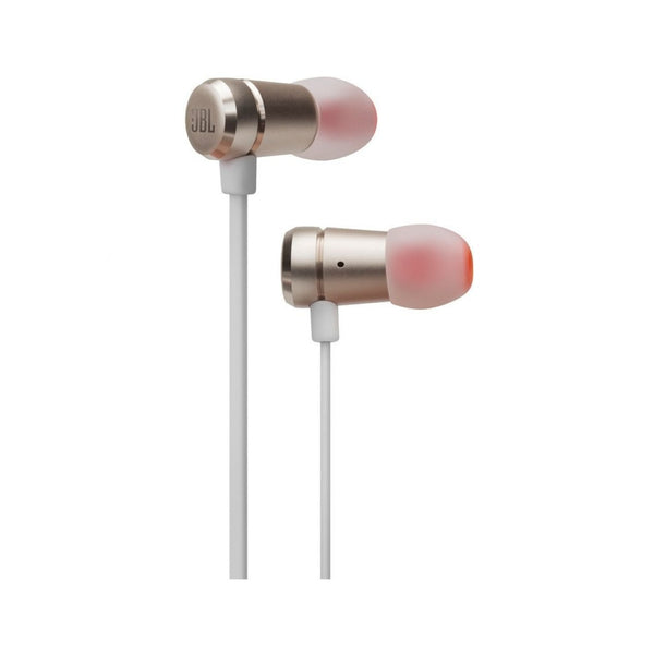 JBL T290 Wired In Ear Headphone Gold JBLT290CGD