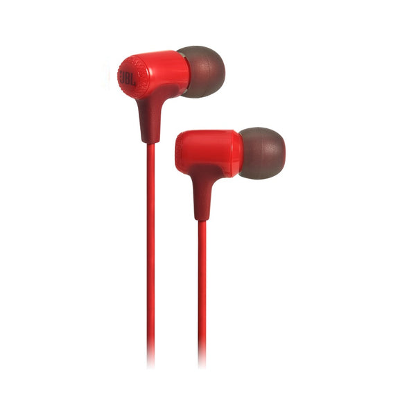 JBL E15 Wired In Ear Headphone Red JBLE15RED