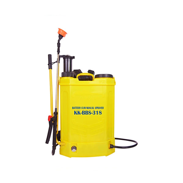 KisanKraft 18L Electric Battery Cum Manual Sprayer KK-BBS-318