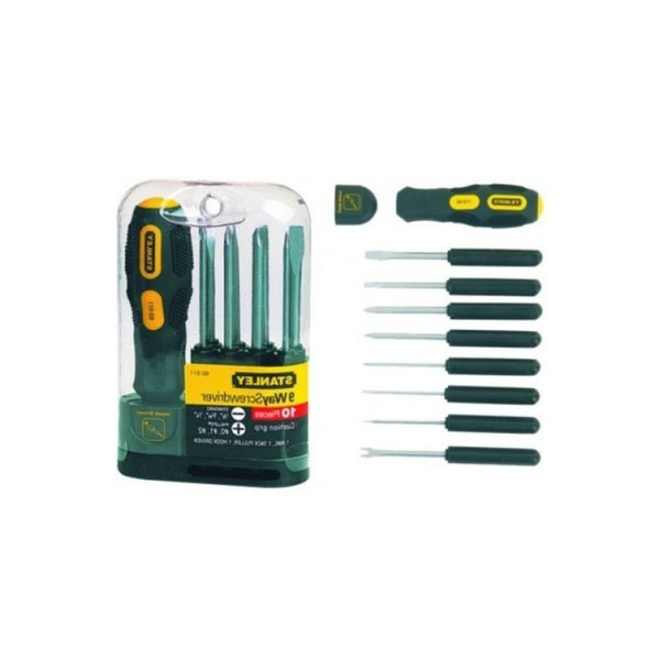 Stanley 9 way Screwdriver Set STHT62511-812