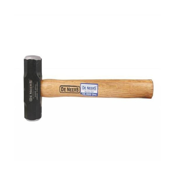 De Neers Sledge Hammer With Wooden Handle