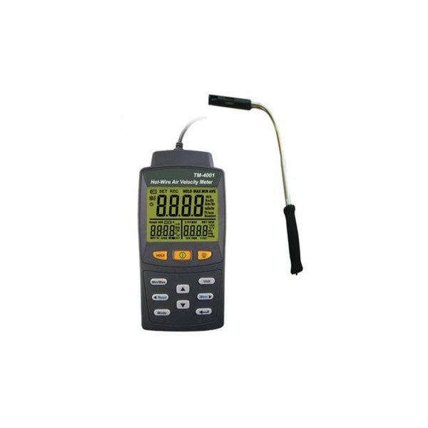 Equinox Rugged Hot-Wire Air Velocity Meter TM-4001